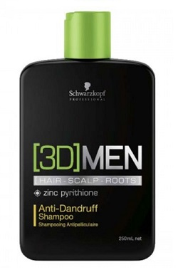 3D Men Anti-Dandruff Sham.