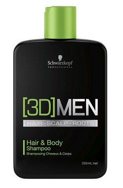 3D Men Hair & Body Sham.